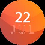 22 de julio