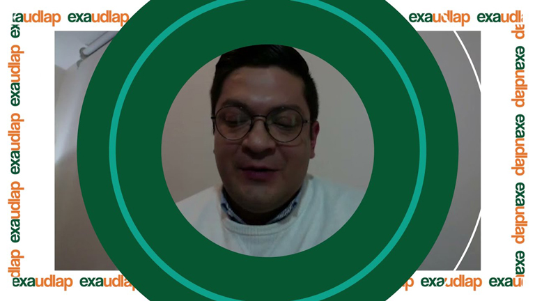 Adalberto Santamaria Rosales Egresado UDLAP