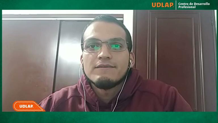 Marco Antonio de Jesús Pérez Galán Egresado UDLAP